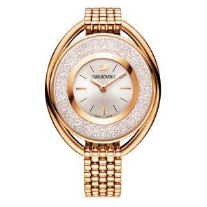 Swarovski_Crystalline_Oval_Rose_Gold_Metal_Watch