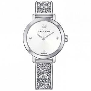 Cosmic Rock Watch, Metal Bracelet, White, Silver Tone 5376080