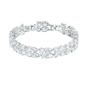 Swarovski Tennis Deluxe Mixed Bracelet - Rhodium Plating - 5562088