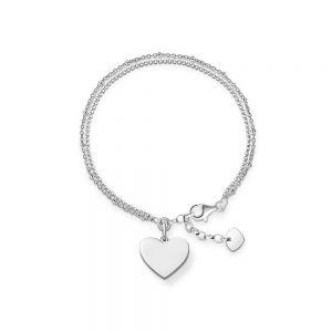 Thomas Sabo Bracelet - Heart LBA0102-001-12-L19.5V