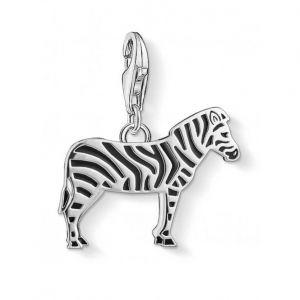 Thomas Sabo Charm Pendant - Zebra