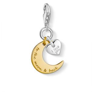 Thomas Sabo Charm Pendant - I Love You To The Moon & Back 1443-413-39