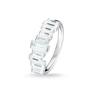 Thomas Sabo Ring, White Stones, Baguette Cut TR2269-051-14-54