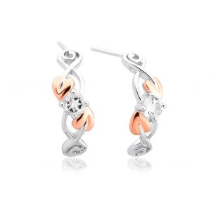 Clogau Tree Of Life White Topaz Earrings - 3STOLQE