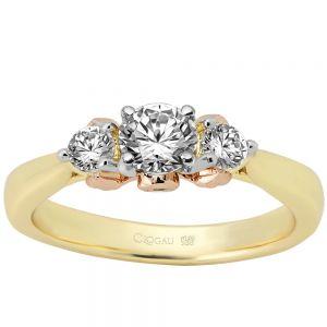 Clogau Compose Engagement Ring - Past Present Future