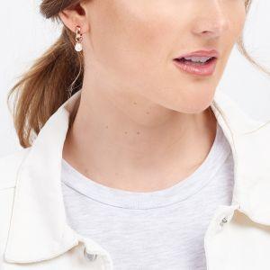Jersey Pearl VIVA Earrings, Rose-Gold VIVAE-RG
