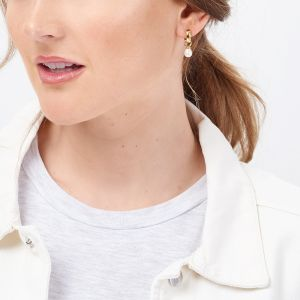 Jersey Pearl VIVA Earrings, Gold