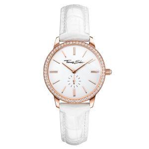 Thomas Sabo Women's Glam Spirit Watch, Pave Rose and White