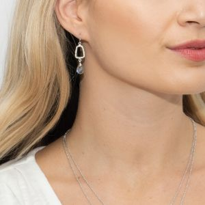Sarah Alexander Wanderlust Labradorite Peardrop Earrings
