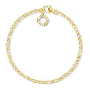 Thomas Sabo Classic Small Charm Bracelet - Gold X0243-413-39