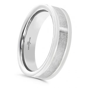 Brown & Newirth 'Aquila' Mens Wedding Band, For Him