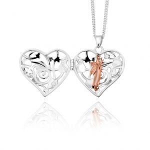 Clogau Small Silver Fairy Locket XXSTFLP