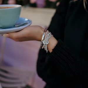 Annie Haak Yard of Love Silver Bracelet