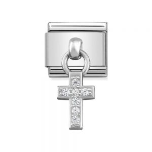 Nomination Classic Charm Stainless Steel and 925 Silver Cross 331800_04