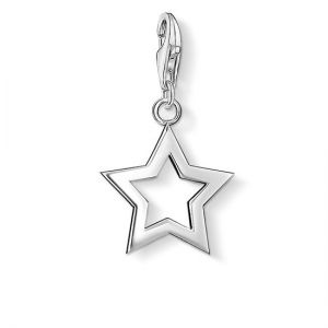 Thomas Sabo Charm Pendant, Silver Star