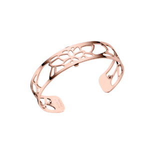 Les Georgettes Nenuphar 14mm Rose Gold Finish Bangle, Large