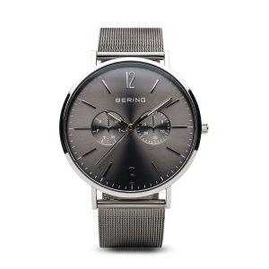 Bering Mens Classic Milano Grey Watch