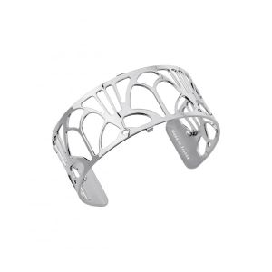 Les Georgettes Arcade 25mm Silver Finish Bangle