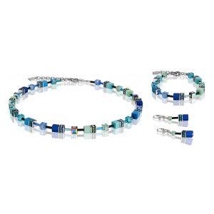 Coeur De Lion Blue Green GEOCUBE Bracelet