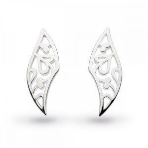 Kit Heath Blossom Flourish Silver Small Stud Earings