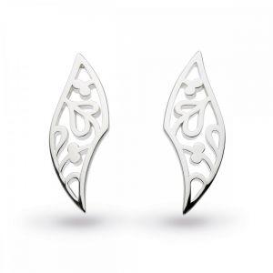 Kit Heath Blossom Flourish Silver Small Stud Earings