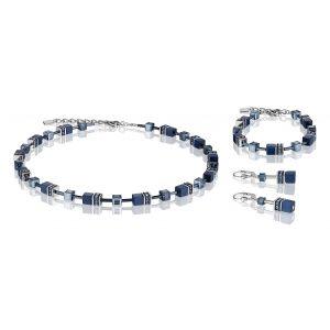 Coeur De Lion Navy Blue GEOCUBE Bracelet