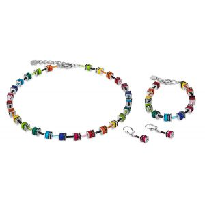 Coeur De Lion Mulitcolour GEOCUBE Necklace