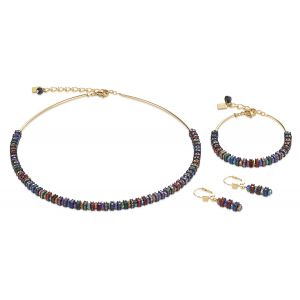 Coeur De Lion Multicolour Gold Necklace