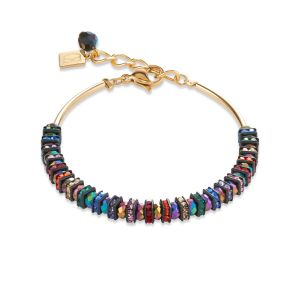 Coeur De Lion Multicolour Gold Bracelet