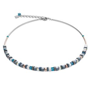 Coeur De Lion Crystal Petrol Necklace