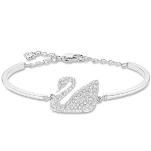 Swarovski_Swan_Bangle_Rhodium