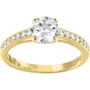 Swarovski_Attract_Round_Ring_Pave_Gold