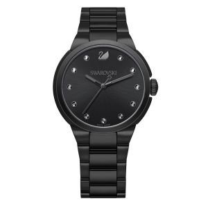 Swarovski City Watch, Black
