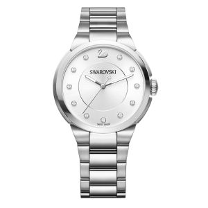 Swarovski City Watch, Simple White