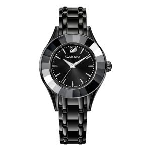 Swarovski Ladies Alegria Watch, All Black