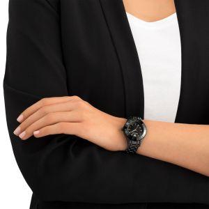 Swarovski Ladies Alegria Watch, All Black