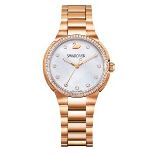 Swarovski City Mini Watch, Rose Gold Plating