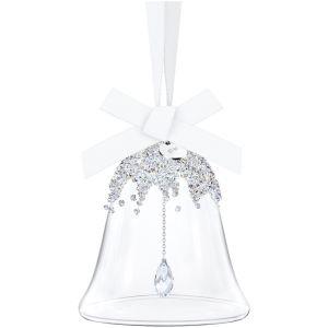 Swarovski Christmas Bell Ornament, Small