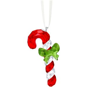 Swarovski Crystal Candy Cane Ornament