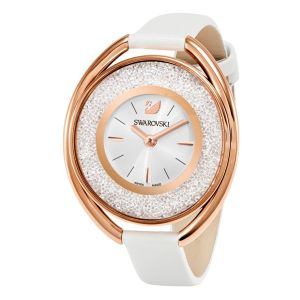 Swarovski_Crystalline_Oval_Rose_&_White_Leather_Watch