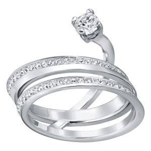 Swarovski, Fresh Rhodium Plated Ring