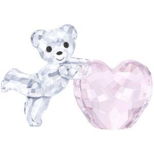 Swarovski Crystal Kris Bear 'Pink Heart'