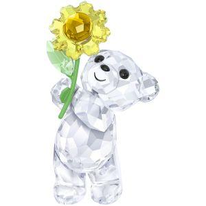 Swarovski Crystal Kris Bear 'A Sunflower for You'