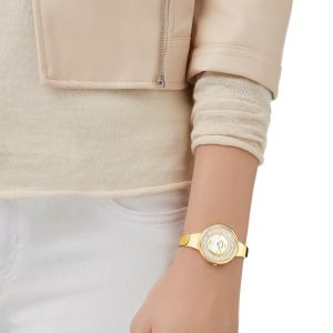 Swarovski Crystalline Pure Watch, Gold Tone