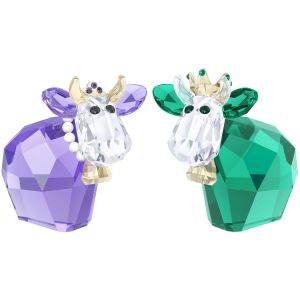 Swarovski Crystal King & Queen Mo, Limited Edition 2017