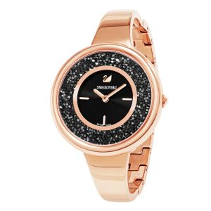 Swarovski_Crystalline_Pure_Watch_Metal_Rose_&_Black_5295334