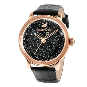 Swarovski_Crystalline_Hours_Watch_Black_&_Rose