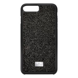 Swarovski Glam Rock Smartphone Case with Bumper, iPhone® Plus, Black