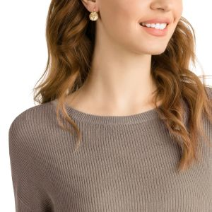 Swarovski_Bella_V_Pierced_Earrings_Large_Gold