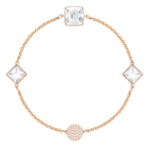 Swarovski Remix Collection Crystal Spike, White, Rose gold plating